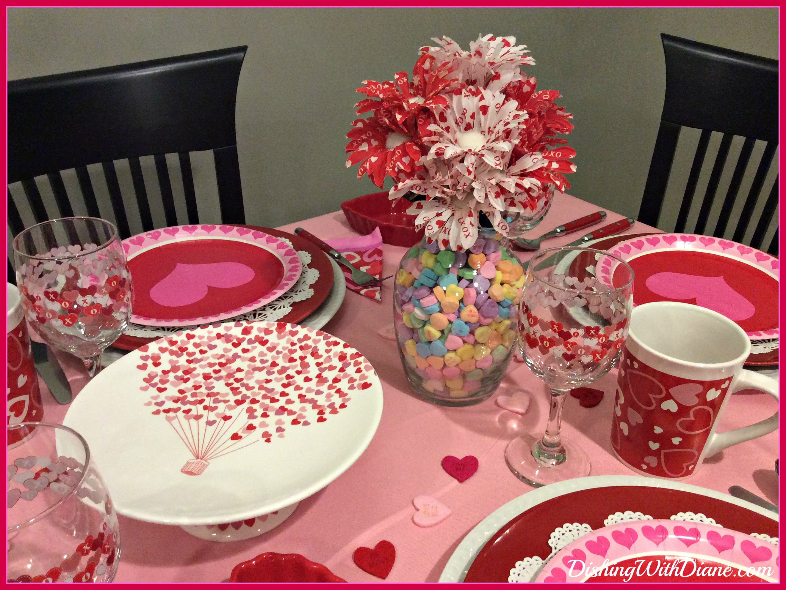 valentine s day breakfast tablescape dishing with diane
