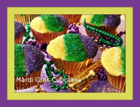 mardi-gras-cupcakes - mardi gras cupcakes