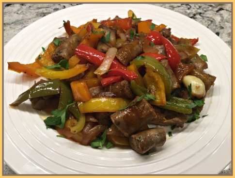 2015-06-23 21.02.00- SAUSAGE AND PEPPERS