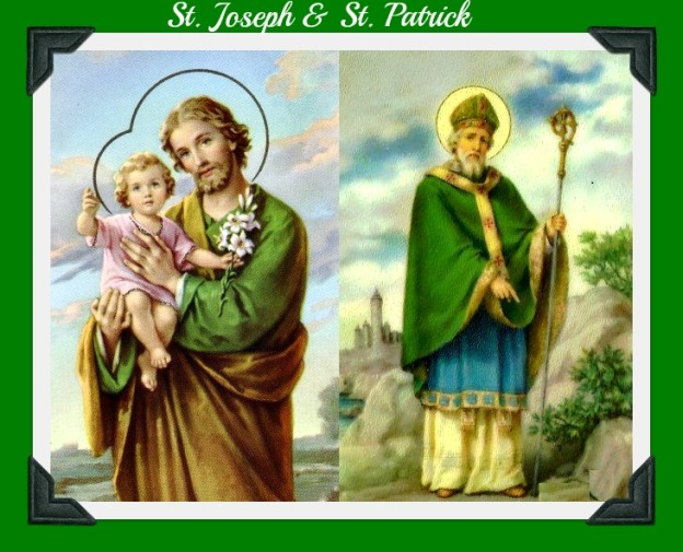 Image result for images for st patricks day and st josephs day
