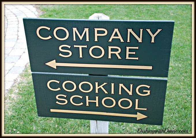 April 2011 306 COOKING SCHOOL SIGN