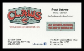 Claws Biz Card - USE