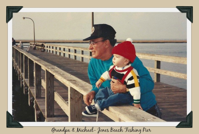 DAD AND MICHAEL -JONES BEACH PIER- USE