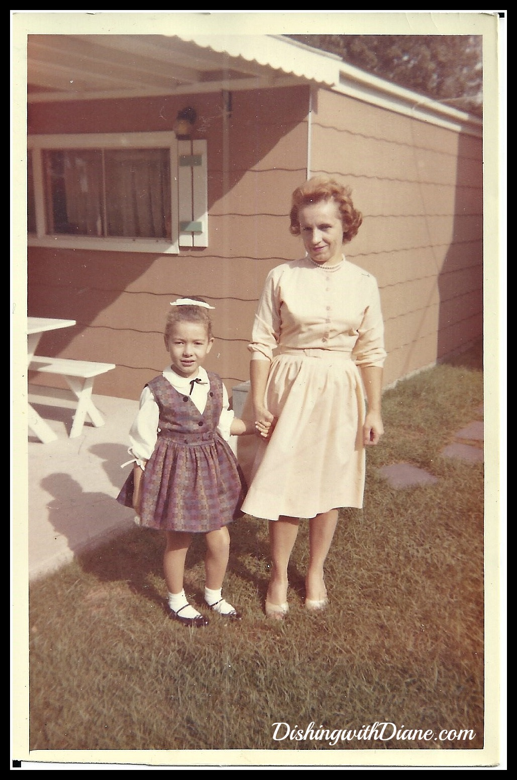 Diane&Mom 1963.jpg DIANE AND MOM FOR BLOG