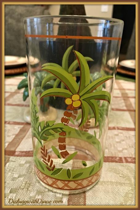Photo Sep 18, 2 55 23 PM - PALM TREE GLASS