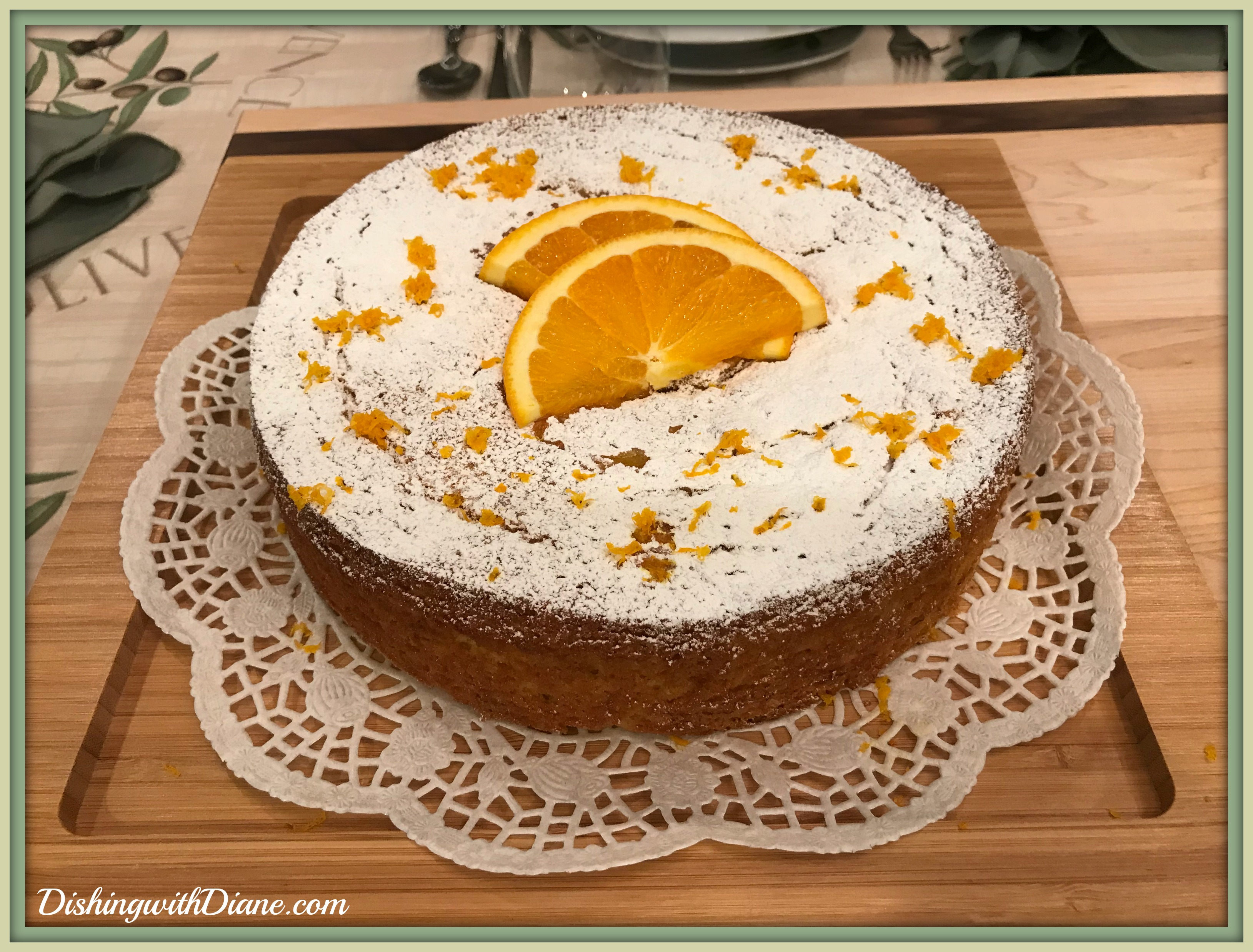 Photo Apr 21, 7 06 54 PM OLIVE CAKE