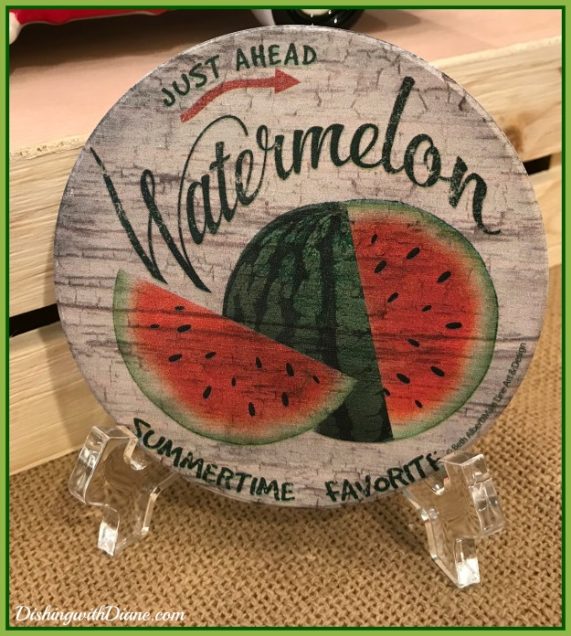 Photo Sep 21, 12 30 12 PM WATERMELON COASTER