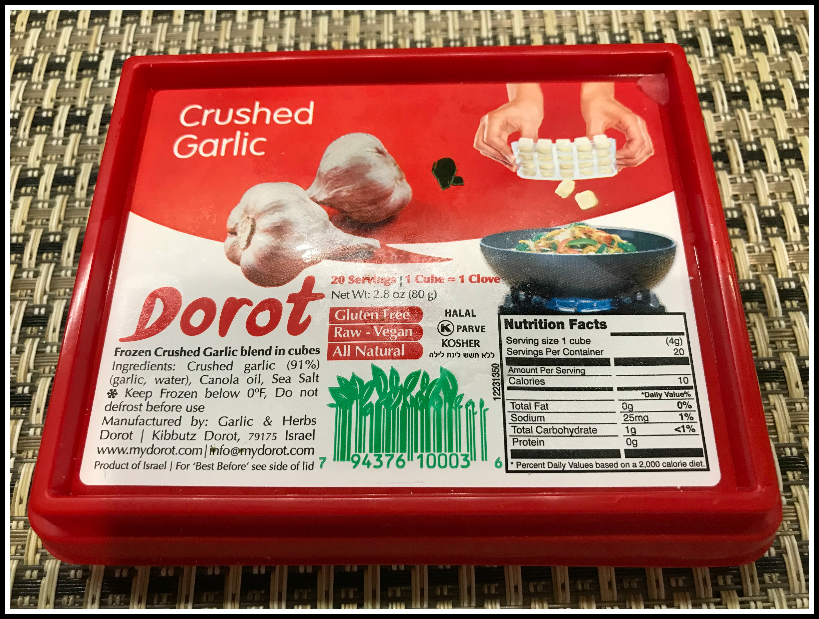 photo jan 09, 4 11 48 pm crushed garlic cube