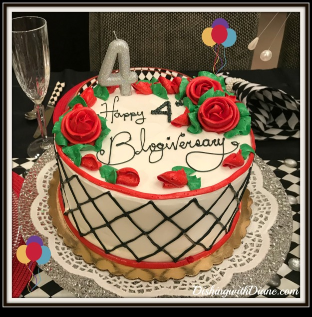 photo jan 26, 12 03 46 am (1) blogiversary cake