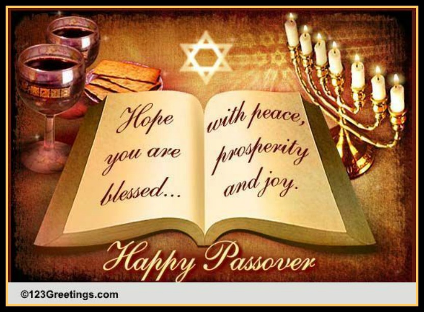 Happy Passover for blog image