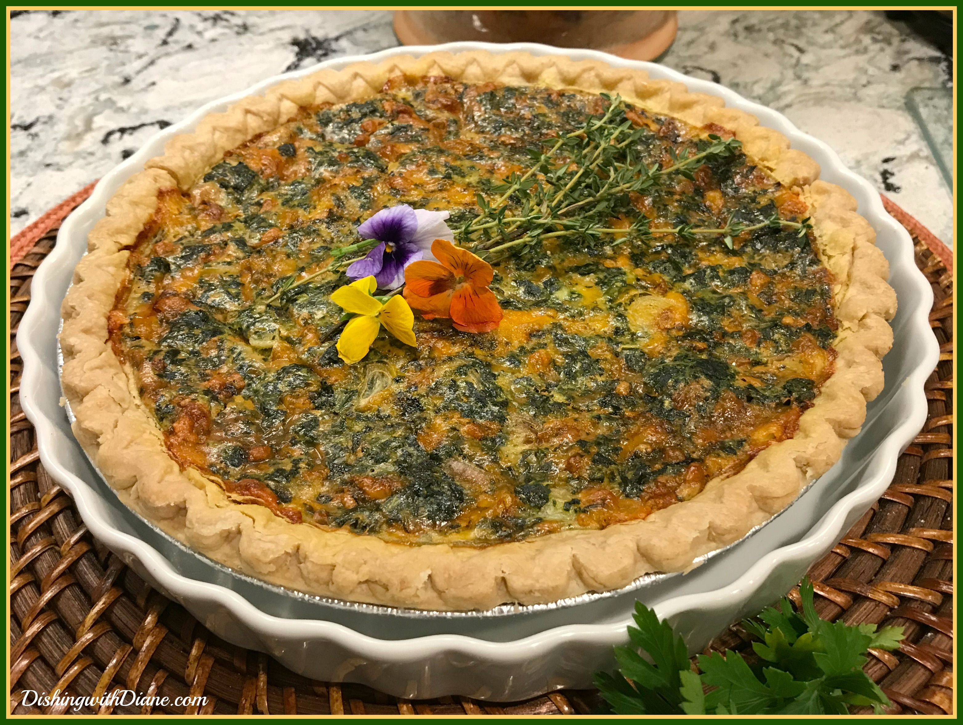 2019-08-22 23.04.53 SPINACH QUICHE